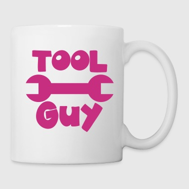 TOOL GUY with a spanner good for a mechanic! - Coffee/Tea Mug