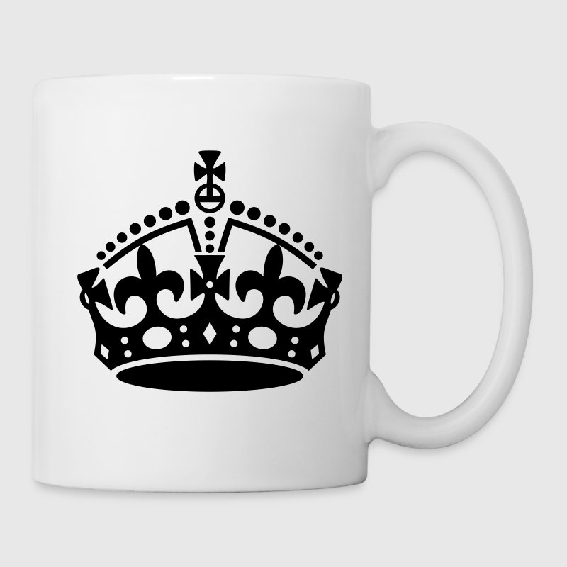 Keep Calm and Carry On Crown - Coffee/Tea Mug