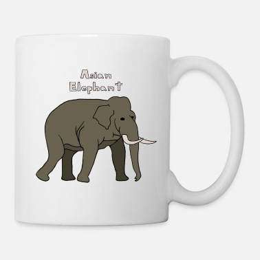 Asian  asian elephant - Coffee/Tea Mug