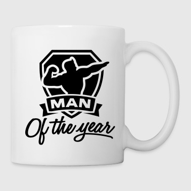 Man of the year 1 clr - Coffee/Tea Mug