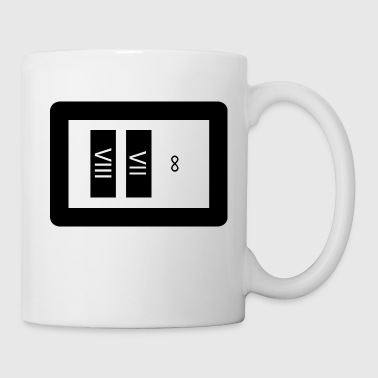 87 til inifinity blk white - Coffee/Tea Mug