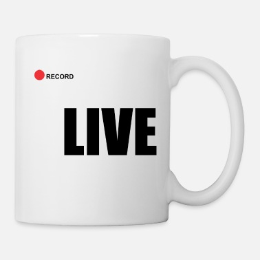 Record Champion Live record - Coffee/Tea Mug