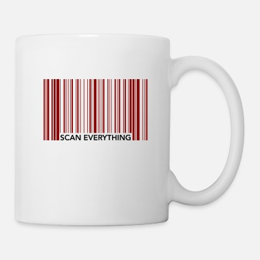 Scan Scan Everything Shopping Funny Scanner Store Gift - Coffee/Tea Mug