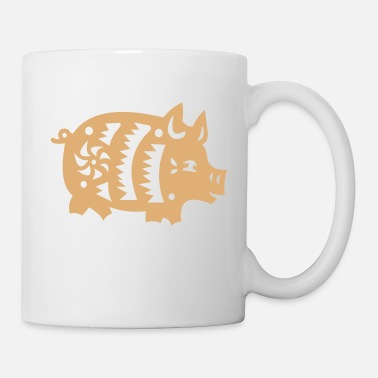 Wilderness pig - Mug