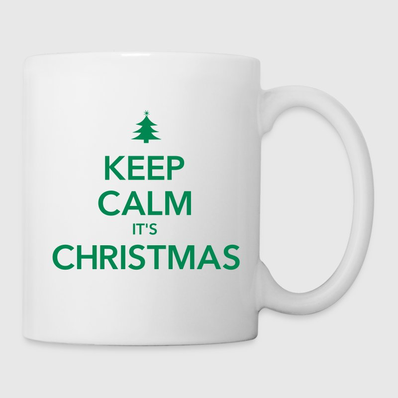 KEEP CALM IT'S CHRISTMAS - Coffee/Tea Mug