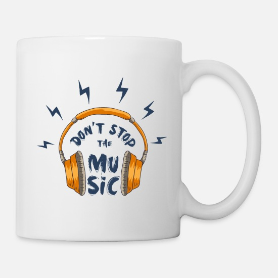 Music Mugs & Drinkware - Headphone - Mug white