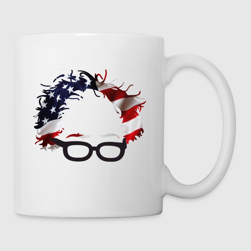Bernie USA Flag Hair Sanders 2016 - Coffee/Tea Mug