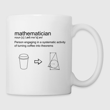 Mathematician & coffee - Coffee/Tea Mug