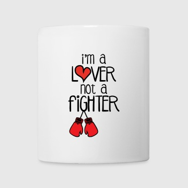 Lover not fighter mug - Coffee/Tea Mug