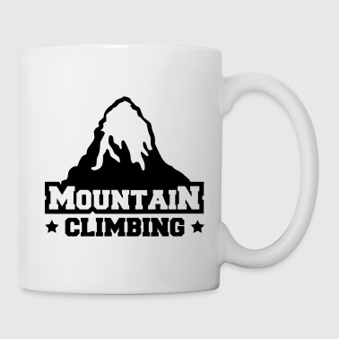 mountain climbing - Coffee/Tea Mug