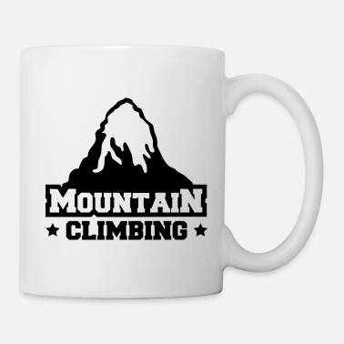 Mountain Climbing mountain climbing - Coffee/Tea Mug