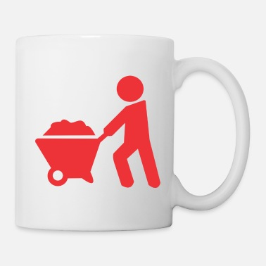 Sand carrying sand - Coffee/Tea Mug