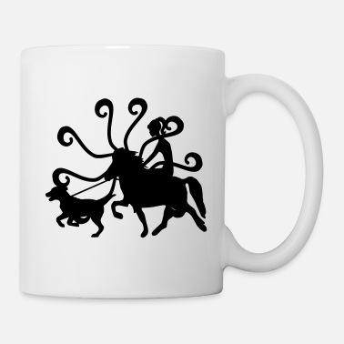Girl Icelandic Horse: Pony Merch - Coffee/Tea Mug