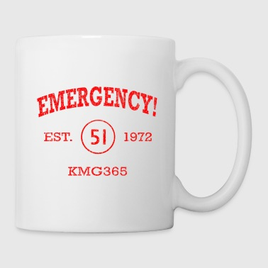 EMERGENCY! Squad 51 Vintage Style T-shirt - Coffee/Tea Mug