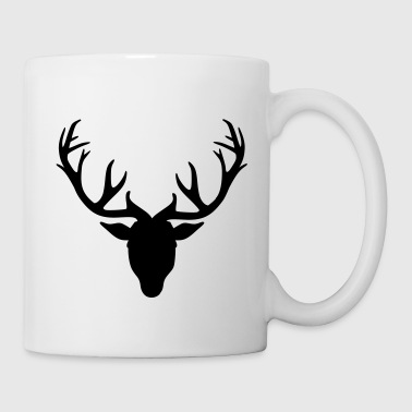Deer antlers - Coffee/Tea Mug