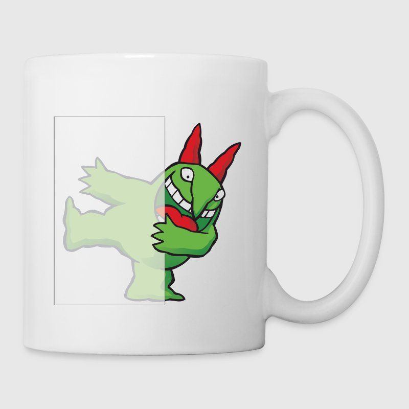 Just for Laughs Gags - Hiding Victor - Coffee/Tea Mug
