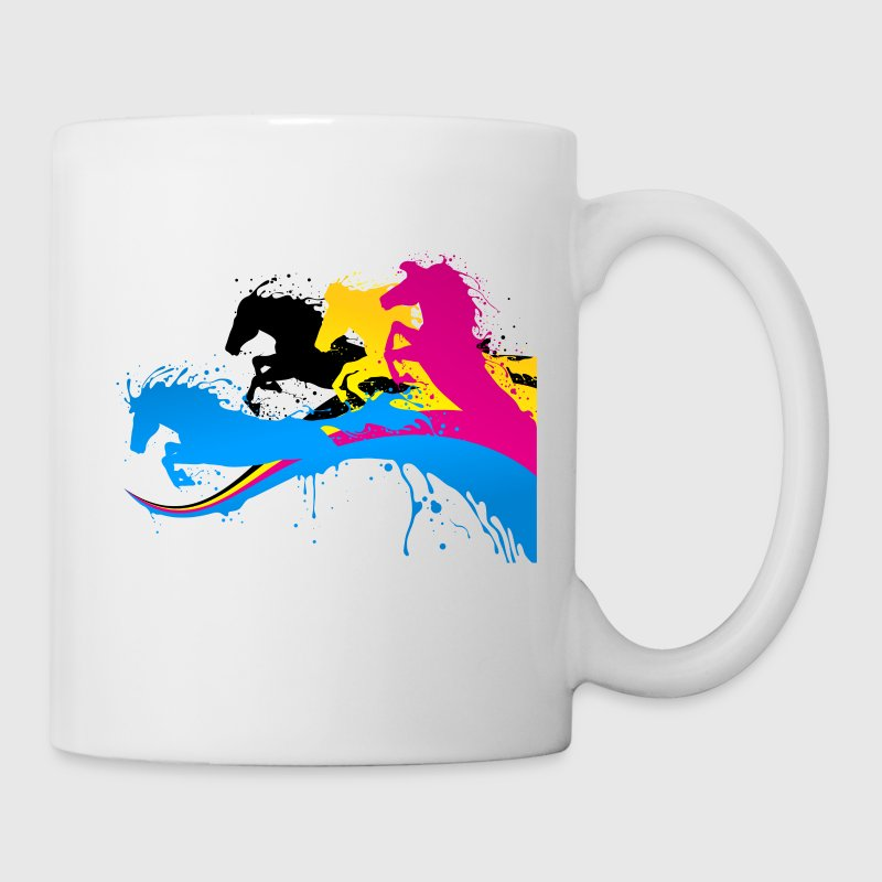 CMYK - Art - Color - Coffee/Tea Mug