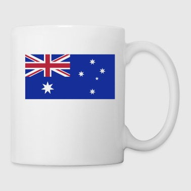 Australia, Australian Flag - Coffee/Tea Mug