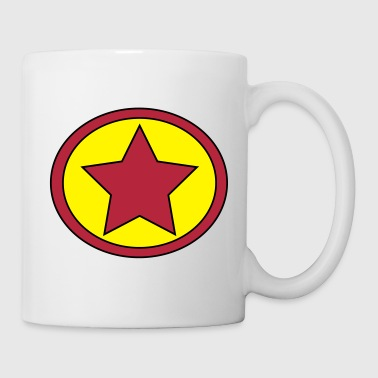 Super, Hero, Heroine, Super Star, Rock Star - Coffee/Tea Mug