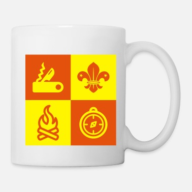 Boy Scout Scouting Pfadfinder Guide Scoutisme - Mug