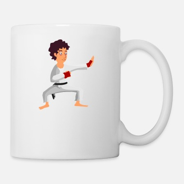 Taekwondo karate martial arts thai boxing ninja kickboxing7 - Coffee/Tea Mug