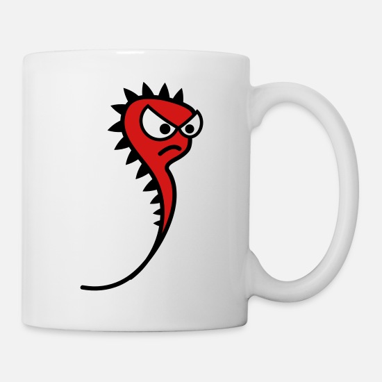 Gift Idea Mugs & Drinkware - Evil worm - Mug white