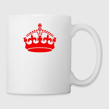 keep calm crown - Coffee/Tea Mug