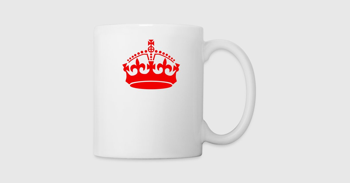 Keep Calm Crown By Xenostral Spreadshirt