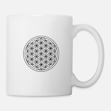 Life Flower flower of life - Coffee/Tea Mug