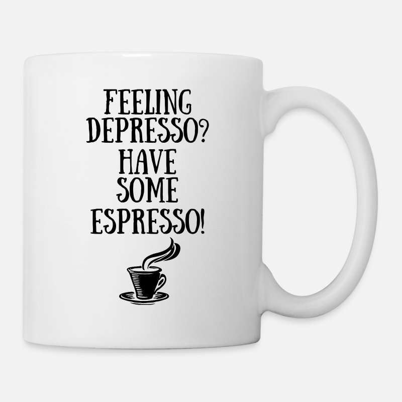 Coffee Mugs & Drinkware - Have Some Espresso funny mug - Mug white