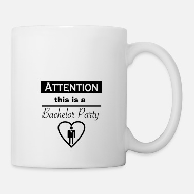 Hen Attention Bachelor Bachelor Bachelorette Party ide - Coffee/Tea Mug
