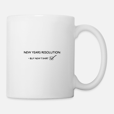 New Years Resolutions New Years Resolution - Mug