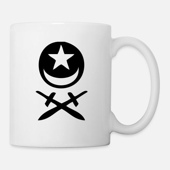 Gothic Mugs & Drinkware - Gothic Smiley 6 - Mug white