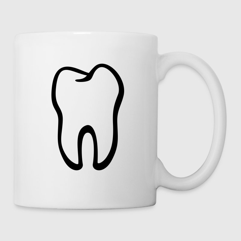 Tooth / Zahn / Dent / Diente / Dente / Tand - Coffee/Tea Mug