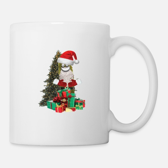 Pickles Mugs & Drinkware - Santa Pickle - Mug white