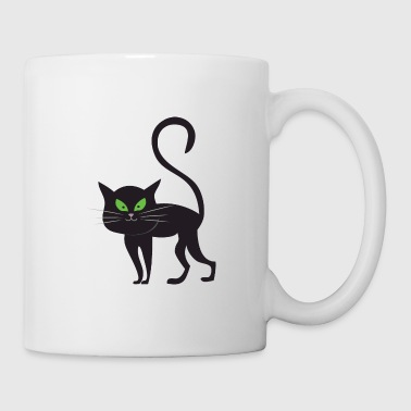 Cat Halloween Monster Zombie Horror - Coffee/Tea Mug