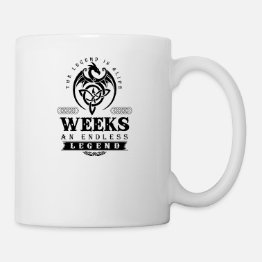 Week WEEKS - Mug