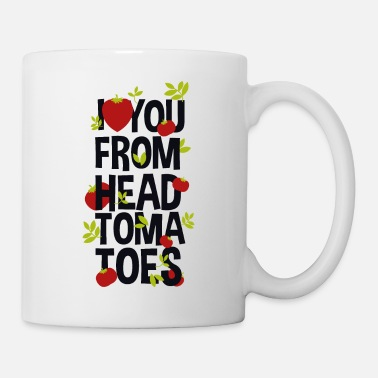 Couples I Love You From Head Tomatoes - Mug