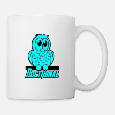 Nocturnal Bird owl nocturnal bird - Mug