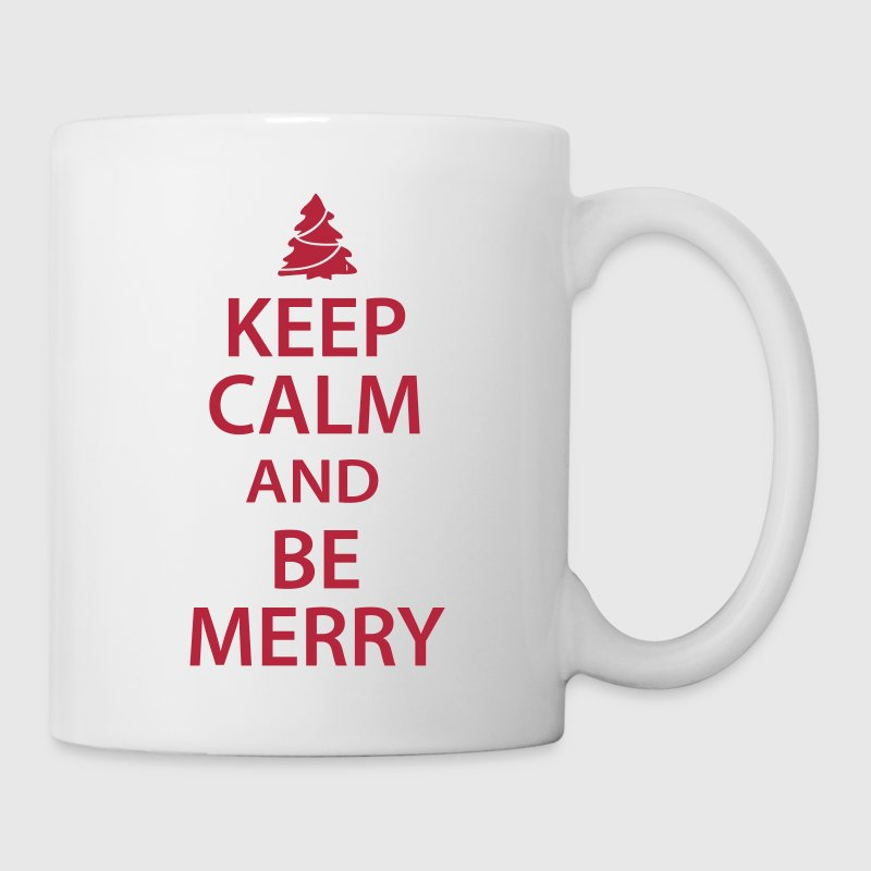 Keep Calm and Be Merry Christmas by CoolCustomTshirts | Spreadshirt