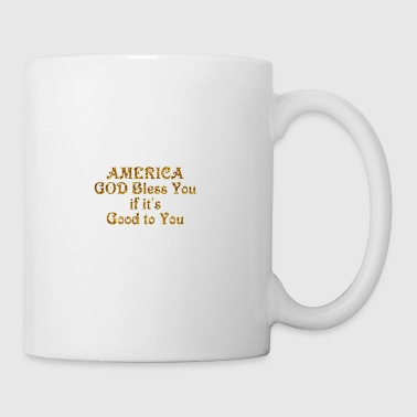America God Bless You - Coffee/Tea Mug