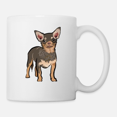 Brown chihuahua dog | chihuahua dog lover t-shirt - Mug