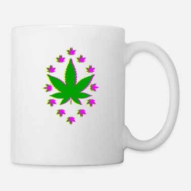 Blunt THC Cannabis Weed Stoner Smoke Blunt Joint Bong - Mug
