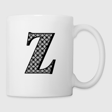 Personalized Z Initial - Coffee/Tea Mug