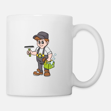 Company Window Cleaner - Coffee/Tea Mug
