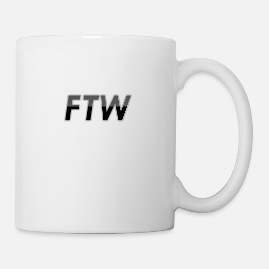 Game Mugs & Drinkware - FTW - For the Win - Mug white
