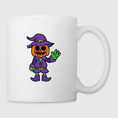 Halloween Monster Zombie Scary Horror Pumpkin - Coffee/Tea Mug