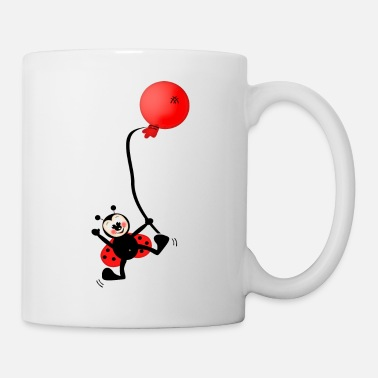 Ladybug and Balloon - Coffee/Tea Mug