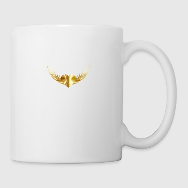 Gold Heart - Coffee/Tea Mug