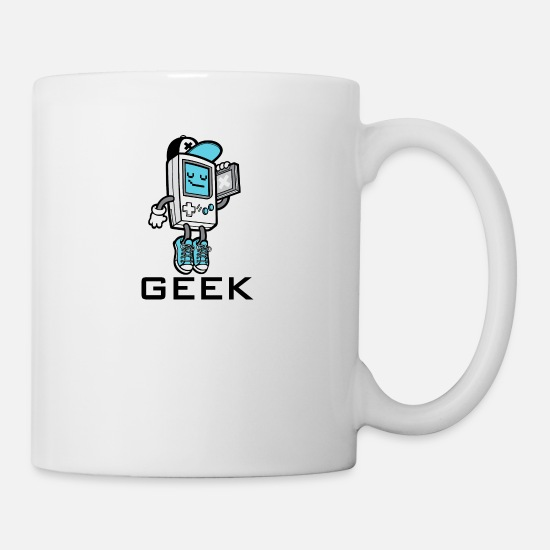 Gaming Mugs & Drinkware - GEEK 2 - Mug white